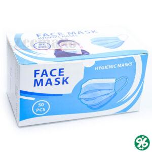 خرید اینترنتی ماسک سه لایه اسپان