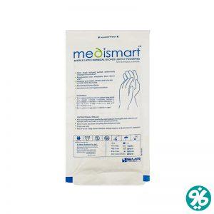 خرید دستکش جراحی MEDISMART سایز 6.5