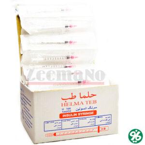 خرید اینترنتی سرنگ انسولین لئورلاک حلما طب