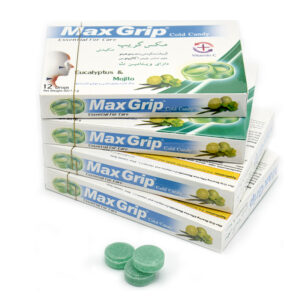 خرید آنلاین آبنبات سرد ویتامین ث موهیتو مکس گریپ