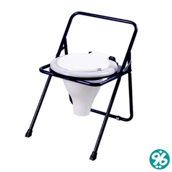 خرید اینترنتی توالت فرنگی تاشو رنگی با قیف برتر